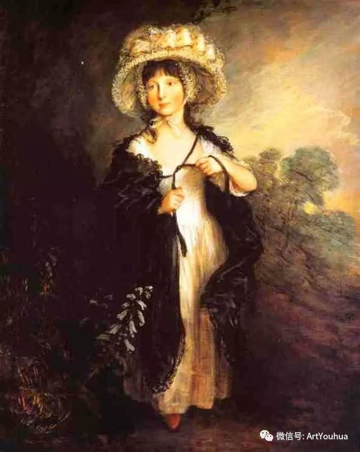 No.33 庚斯博罗 | 英国著名肖像画家和风景画家插图100