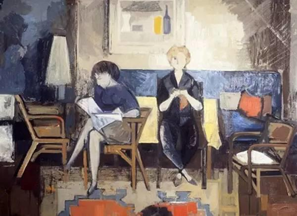 他是在世德国画家中身价最高的,却很谦逊插图53