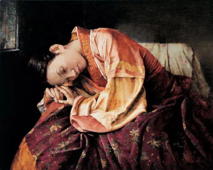 古典画中透露出的静谧美——周丽萱插图