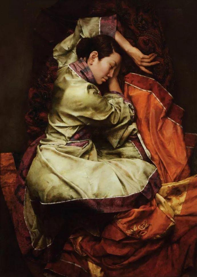 古典画中透露出的静谧美——周丽萱插图3