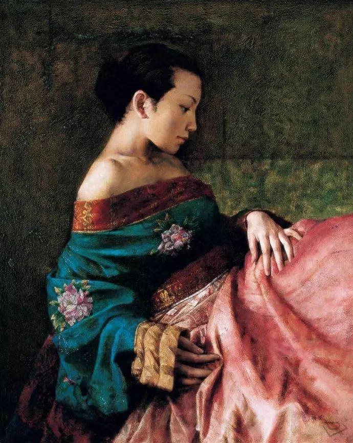 古典画中透露出的静谧美——周丽萱插图5