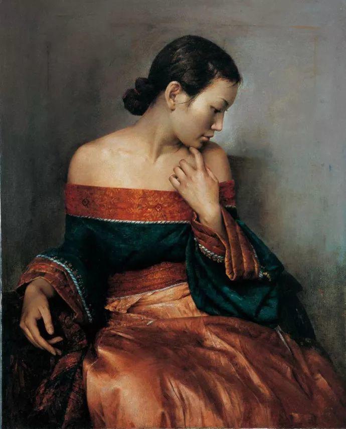古典画中透露出的静谧美——周丽萱插图9