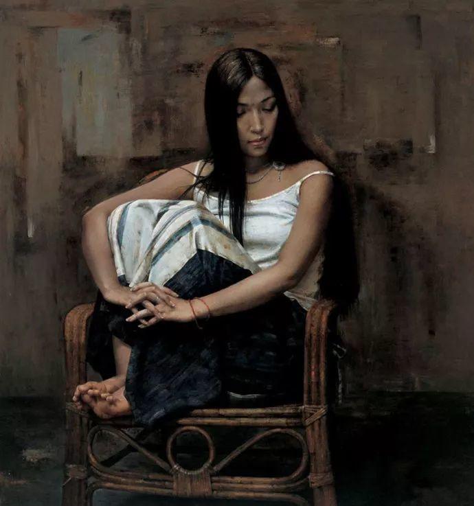 古典画中透露出的静谧美——周丽萱插图14