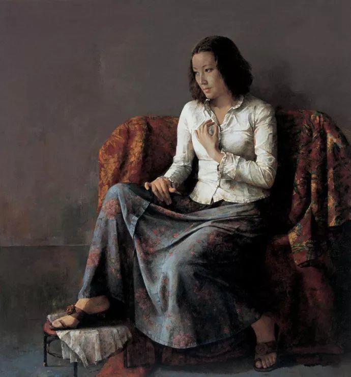 古典画中透露出的静谧美——周丽萱插图33