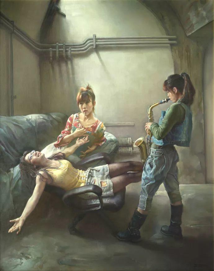 陈克平油画欣赏插图1