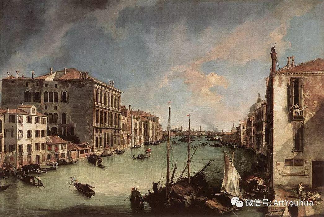No.29卡纳莱托 | 威尼斯场景画艺术插图2