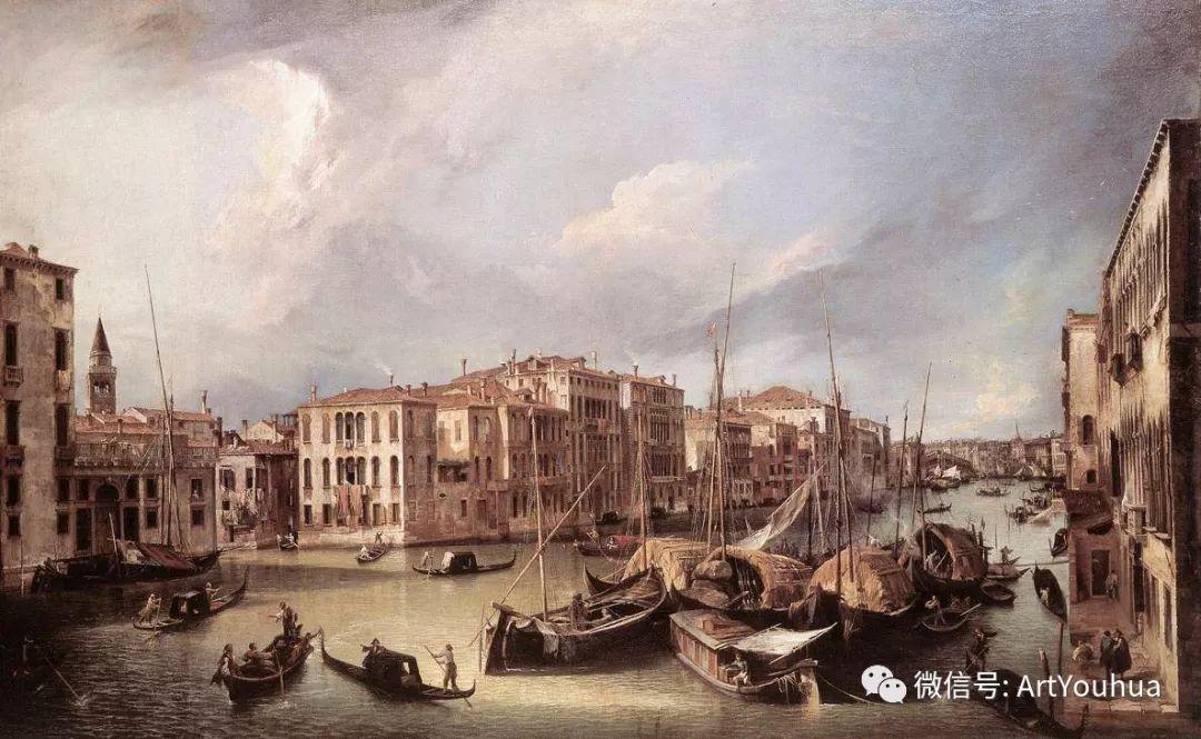 No.29卡纳莱托 | 威尼斯场景画艺术插图12