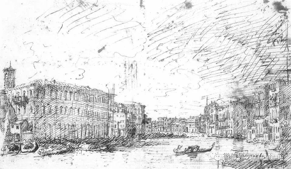 No.29卡纳莱托 | 威尼斯场景画艺术插图16