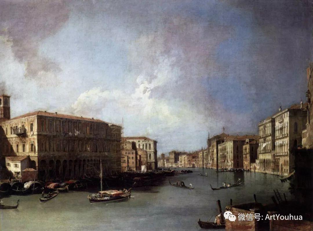 No.29卡纳莱托 | 威尼斯场景画艺术插图20