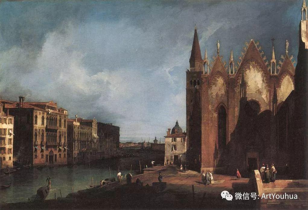 No.29卡纳莱托 | 威尼斯场景画艺术插图22