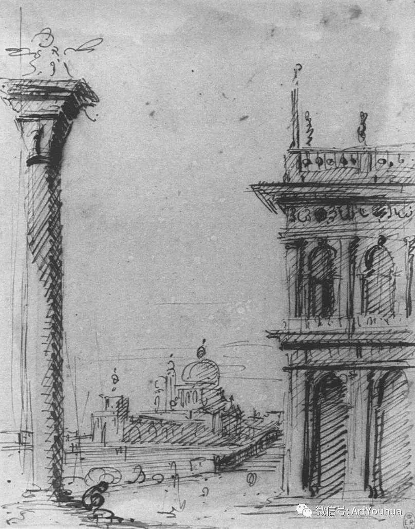 No.29卡纳莱托 | 威尼斯场景画艺术插图28