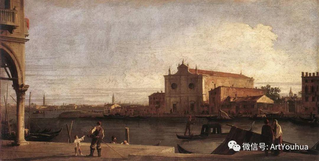 No.29卡纳莱托 | 威尼斯场景画艺术插图31