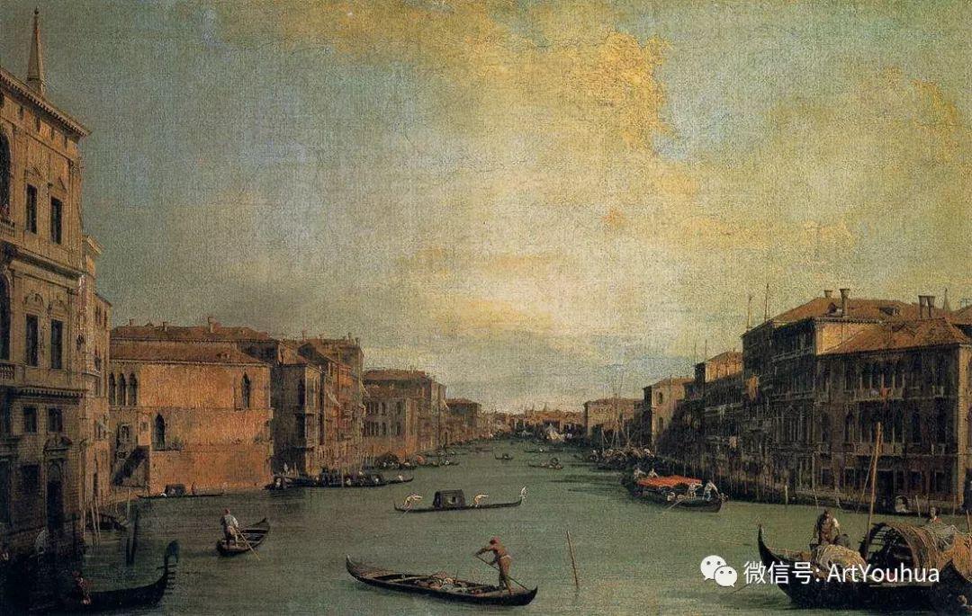 No.29卡纳莱托 | 威尼斯场景画艺术插图36