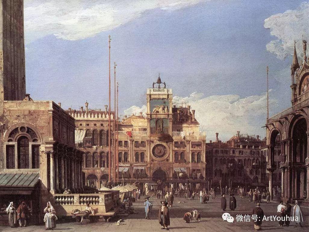 No.29卡纳莱托 | 威尼斯场景画艺术插图40