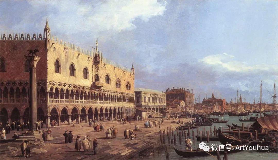 No.29卡纳莱托 | 威尼斯场景画艺术插图43