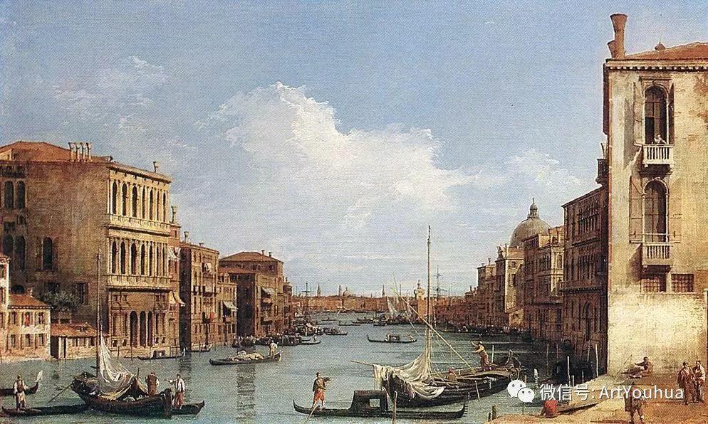 No.29卡纳莱托 | 威尼斯场景画艺术插图45