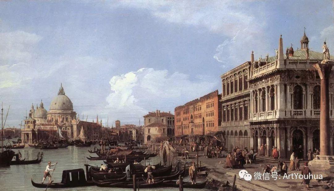 No.29卡纳莱托 | 威尼斯场景画艺术插图46