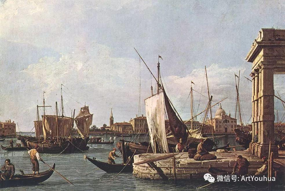 No.29卡纳莱托 | 威尼斯场景画艺术插图47