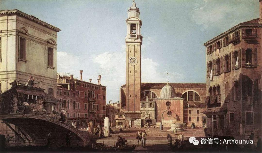 No.29卡纳莱托 | 威尼斯场景画艺术插图49