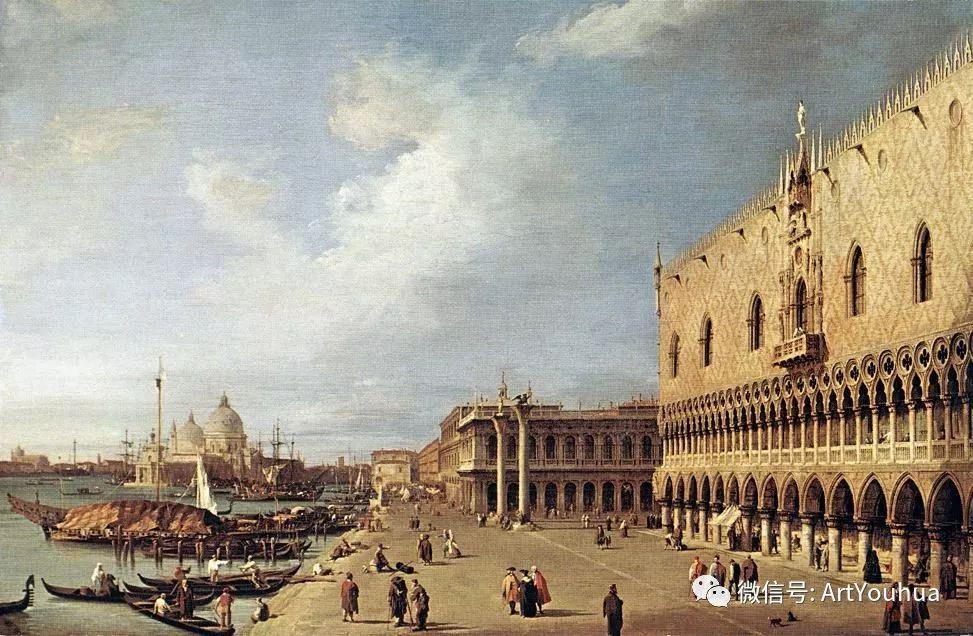 No.29卡纳莱托 | 威尼斯场景画艺术插图50