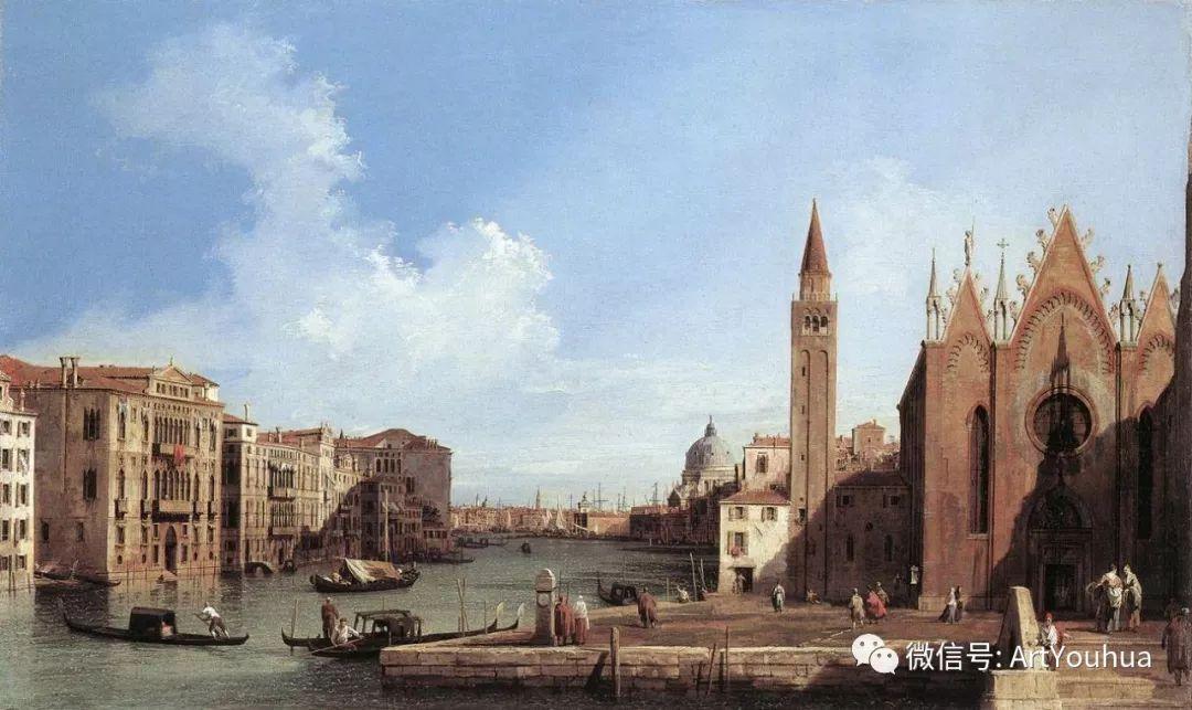 No.29卡纳莱托 | 威尼斯场景画艺术插图54