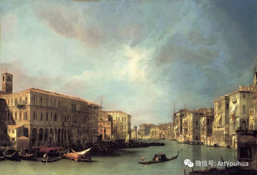 No.29卡纳莱托 | 威尼斯场景画艺术插图55