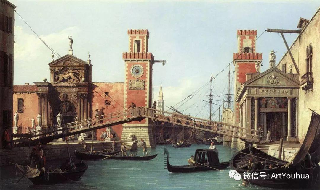 No.29卡纳莱托 | 威尼斯场景画艺术插图60