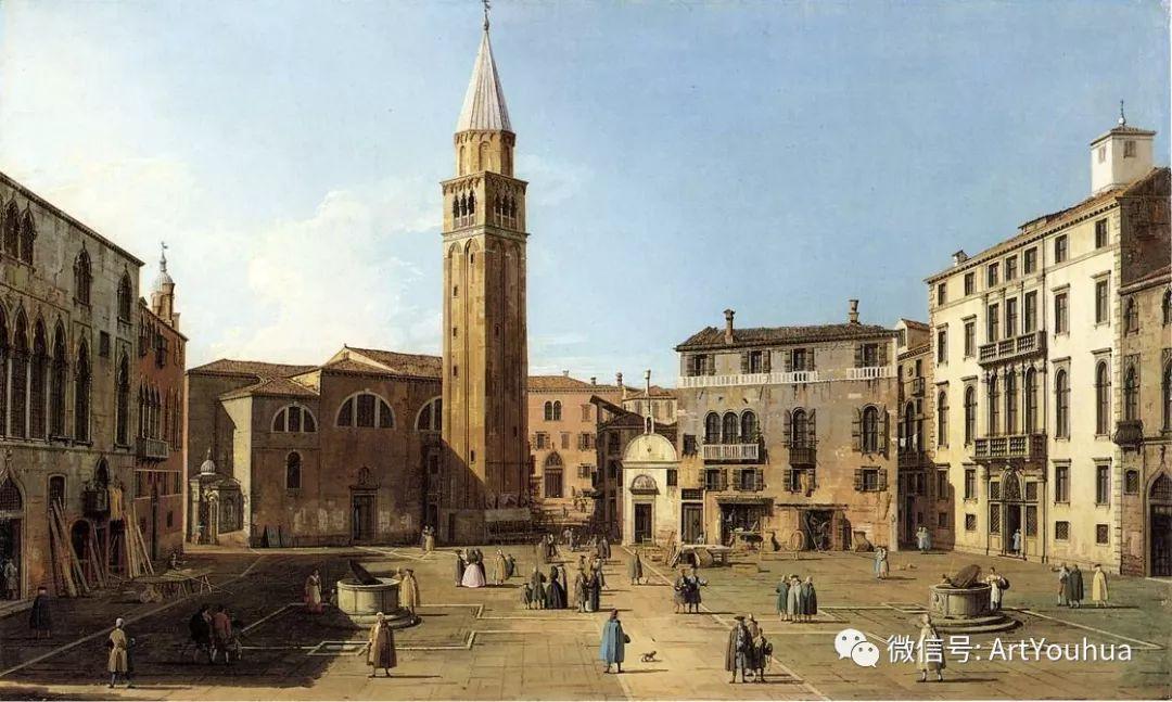 No.29卡纳莱托 | 威尼斯场景画艺术插图62