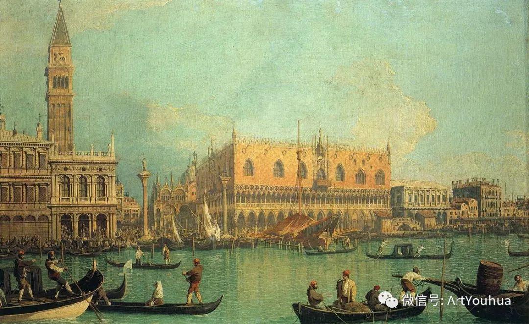 No.29卡纳莱托 | 威尼斯场景画艺术插图70