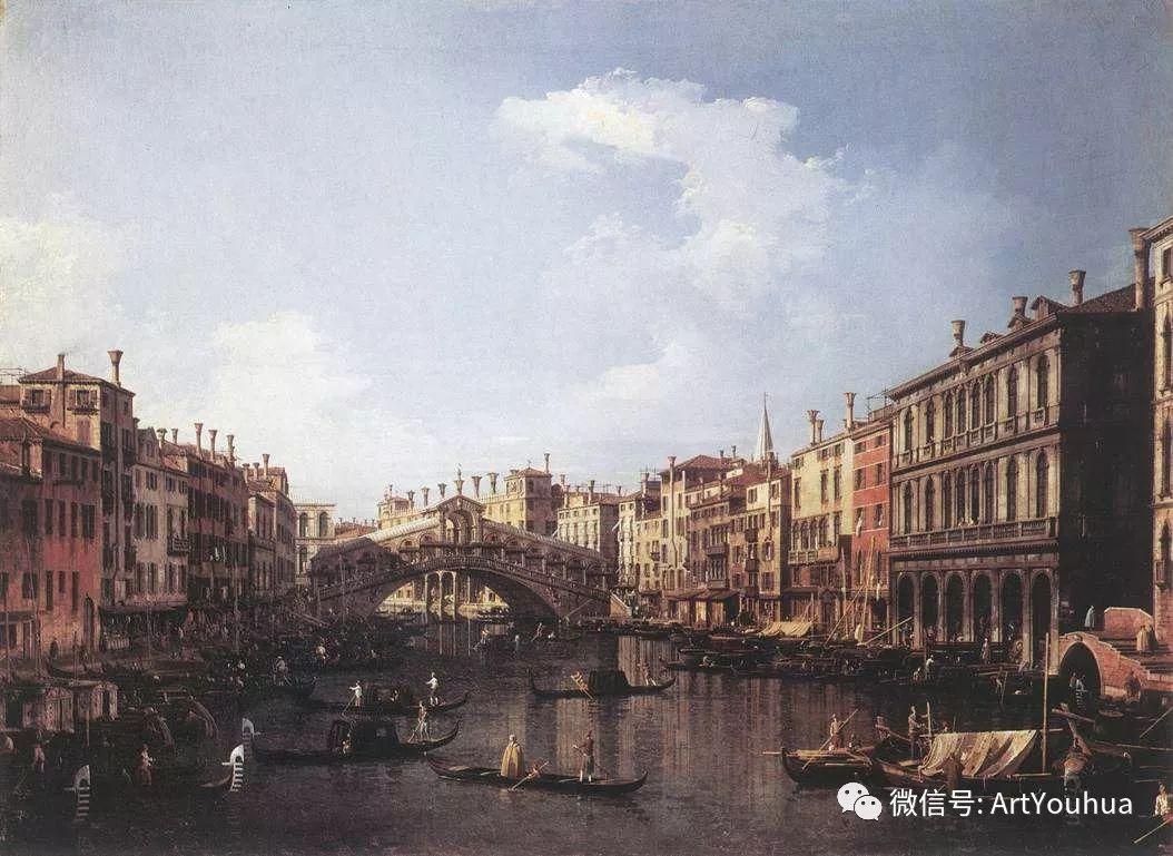 No.29卡纳莱托 | 威尼斯场景画艺术插图71