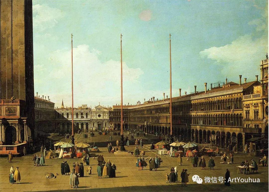 No.29卡纳莱托 | 威尼斯场景画艺术插图75
