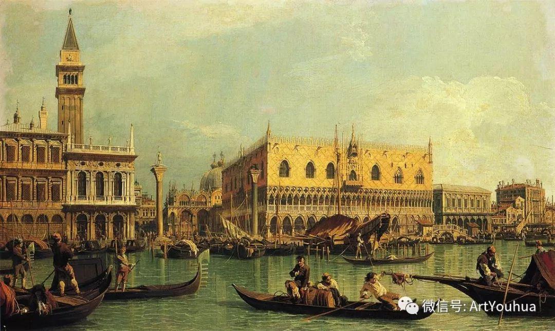 No.29卡纳莱托 | 威尼斯场景画艺术插图76