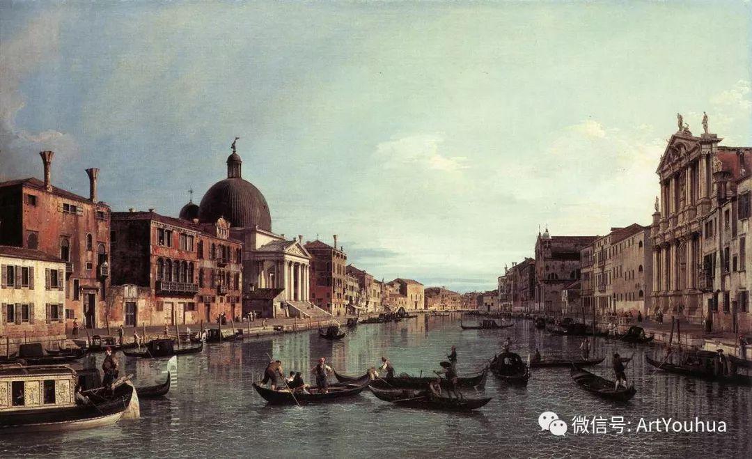 No.29卡纳莱托 | 威尼斯场景画艺术插图78