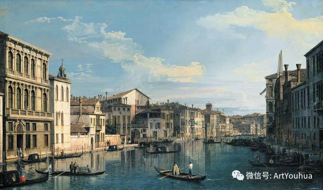 No.29卡纳莱托 | 威尼斯场景画艺术插图81