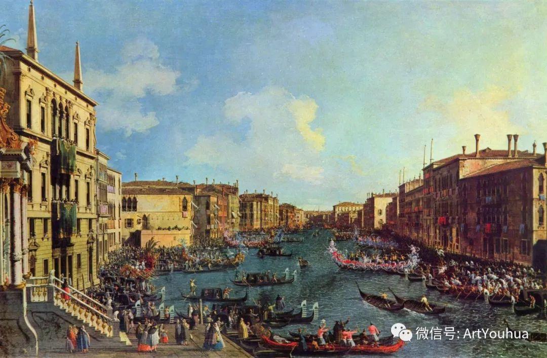 No.29卡纳莱托 | 威尼斯场景画艺术插图83