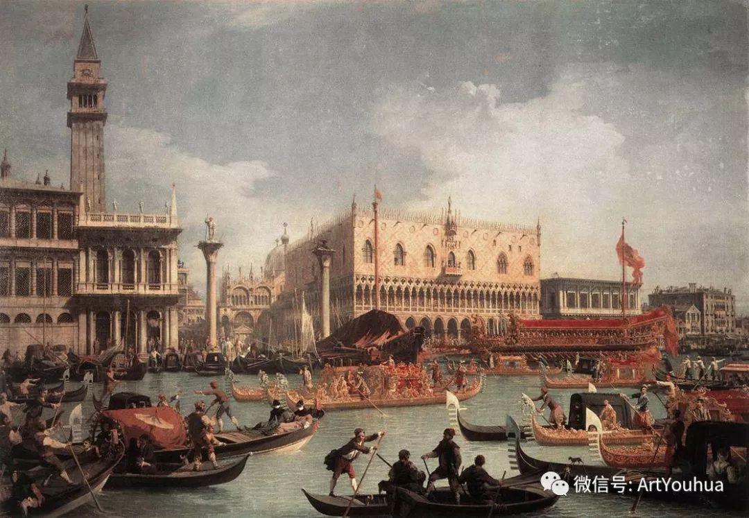 No.29卡纳莱托 | 威尼斯场景画艺术插图86
