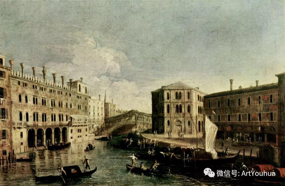 No.29卡纳莱托 | 威尼斯场景画艺术插图87