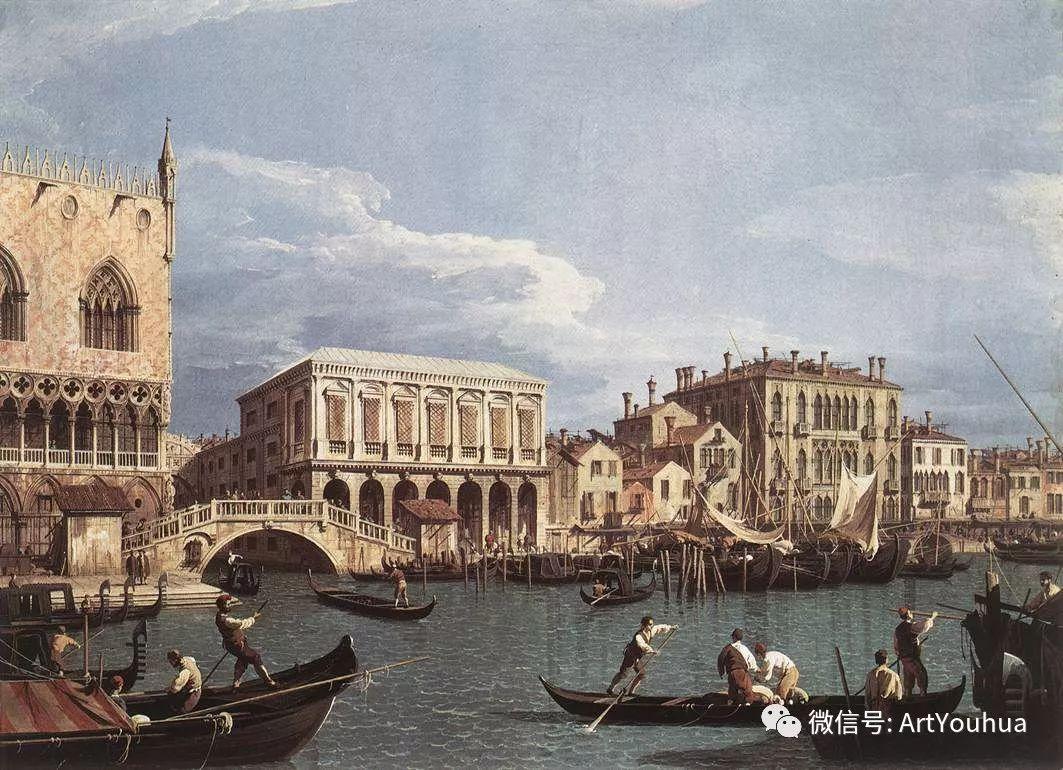 No.29卡纳莱托 | 威尼斯场景画艺术插图90