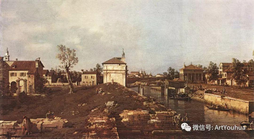 No.29卡纳莱托 | 威尼斯场景画艺术插图96
