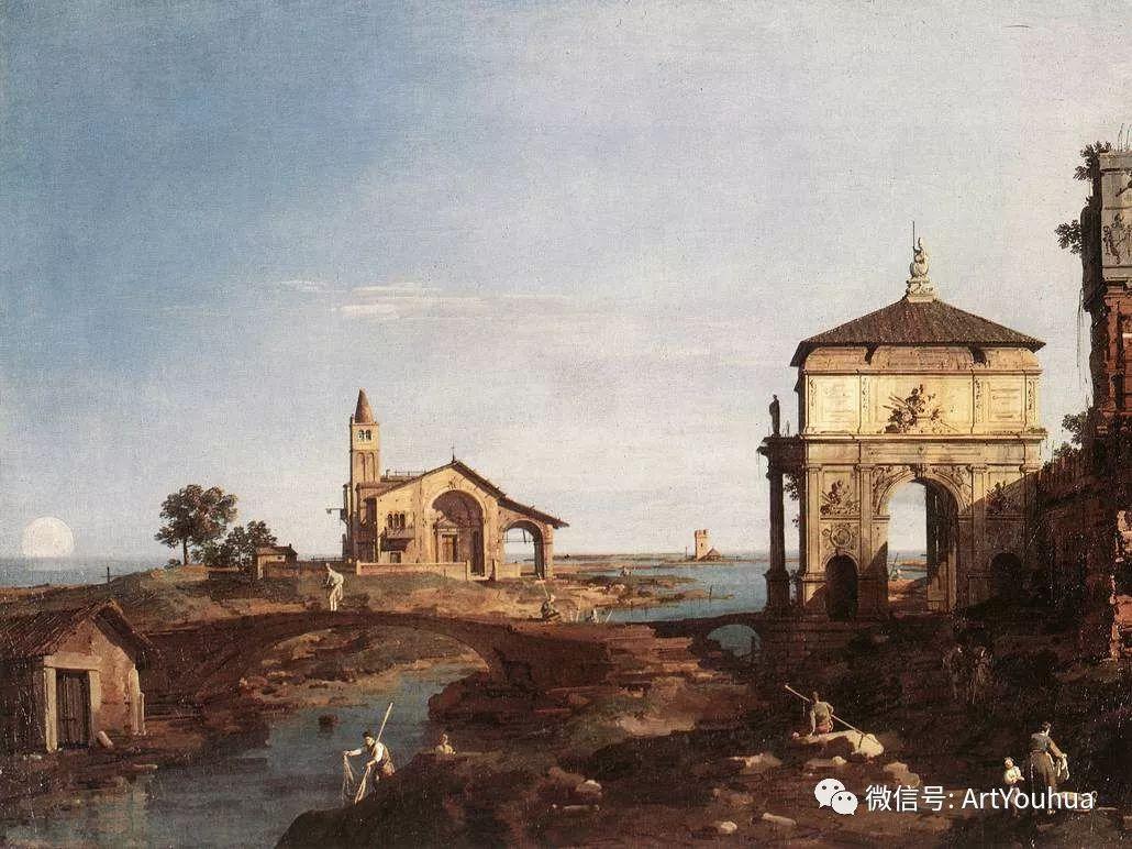 No.29卡纳莱托 | 威尼斯场景画艺术插图97