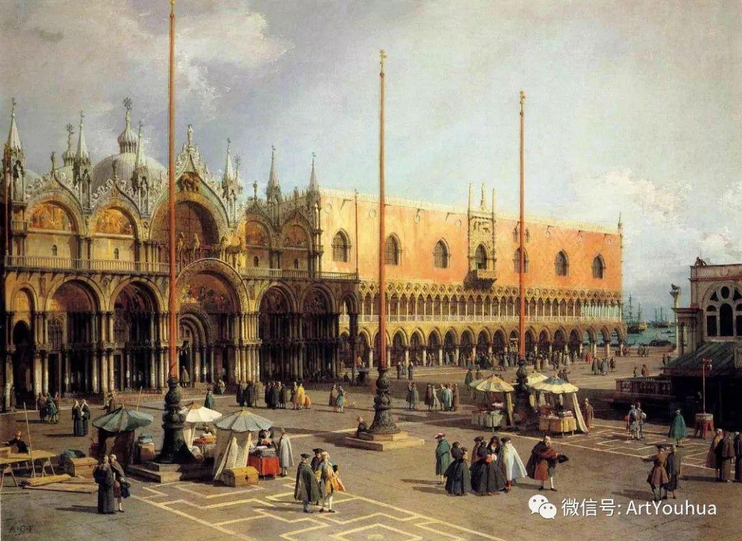 No.29卡纳莱托 | 威尼斯场景画艺术插图100