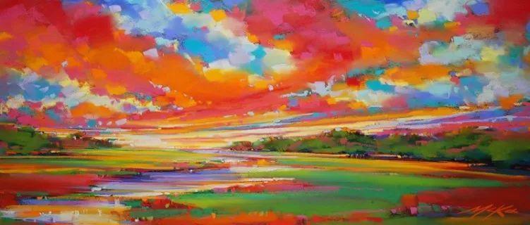 这位大神的风景画如此炫彩插图2