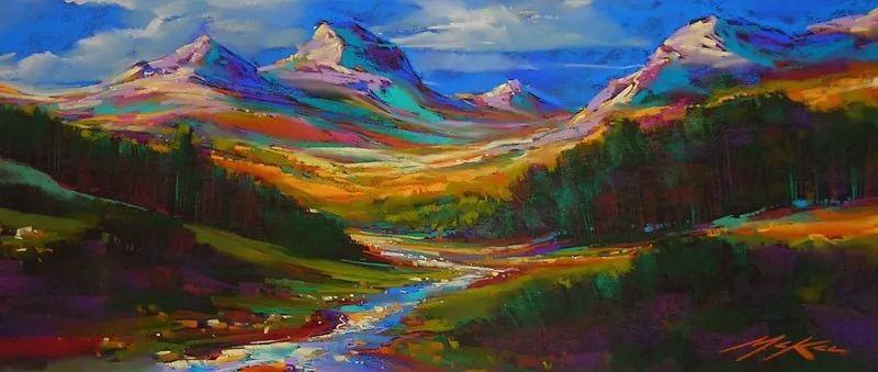这位大神的风景画如此炫彩插图5