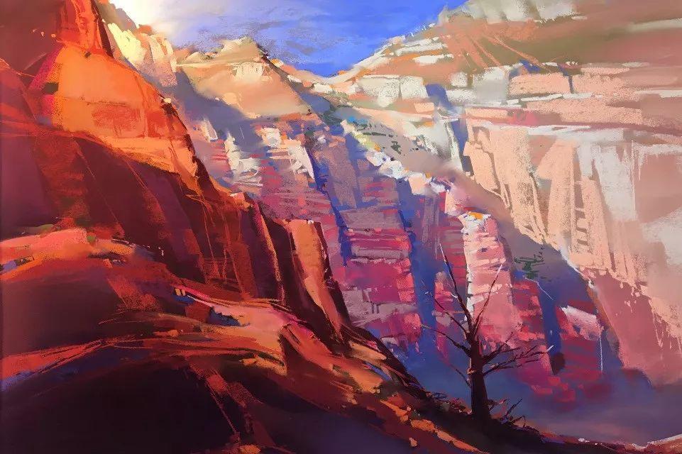 这位大神的风景画如此炫彩插图12