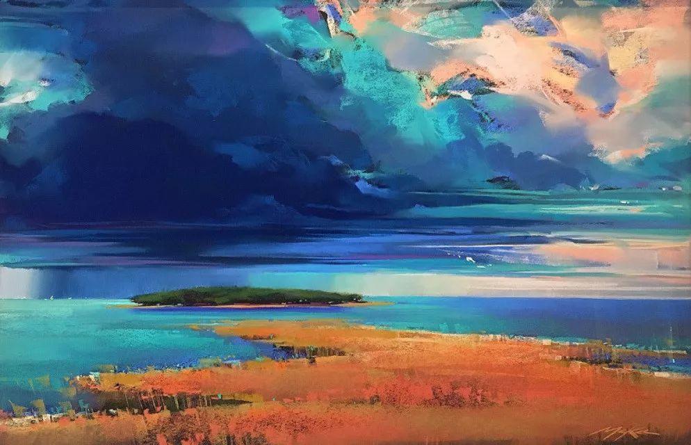 这位大神的风景画如此炫彩插图23