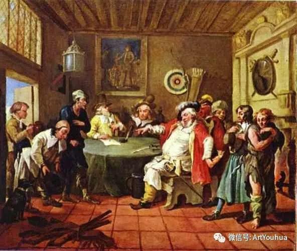 "No.28 霍加斯 | 被称为""英国绘画之父""插图17"