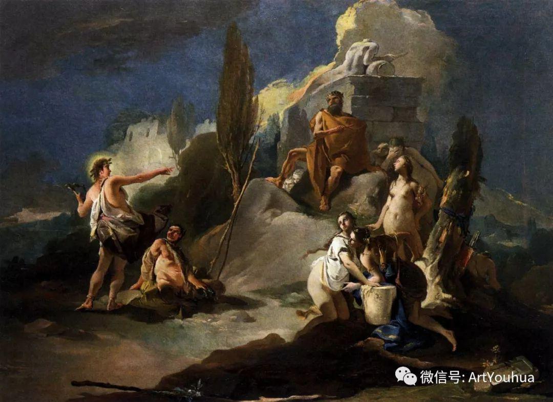No.27 提埃坡罗 | 最负盛名的壁画名家插图16