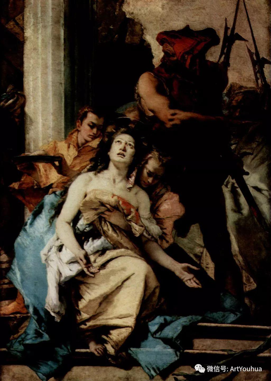 No.27 提埃坡罗 | 最负盛名的壁画名家插图76