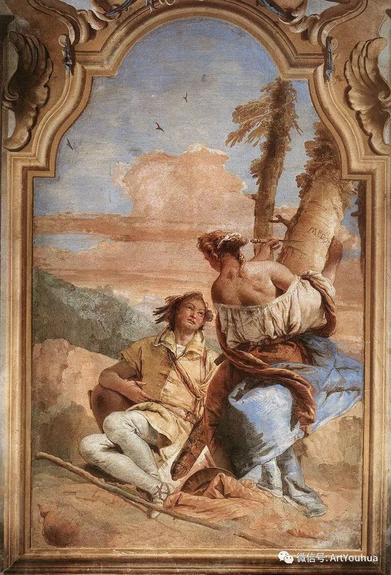 No.27 提埃坡罗 | 最负盛名的壁画名家插图95