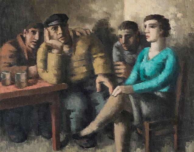 比利时画家Frans Masereel插图